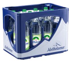 Adelholzener Sanft 12 x 0,75 Liter Glasflasche