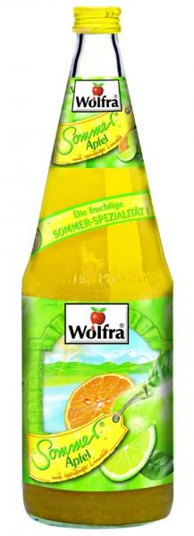 Wolfra Sommer Apfel 6 x 1,0 Liter Glas