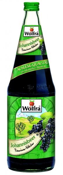 Wolfra Johannisbeer 6 x 1,0 Liter Glas