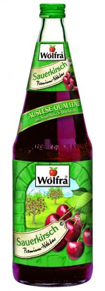 Wolfra Sauerkirsch 6 x 1,0 Liter Glas