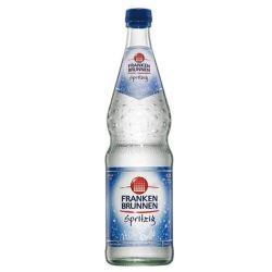 Franken Brunnen Spritzig 12 x 0,75 Liter Glasflasche