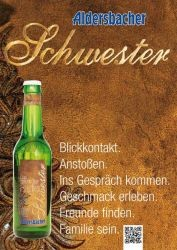 Aldersbacher Schwester Radler naturtrüb mit Stevia 24 x 0,33 Liter