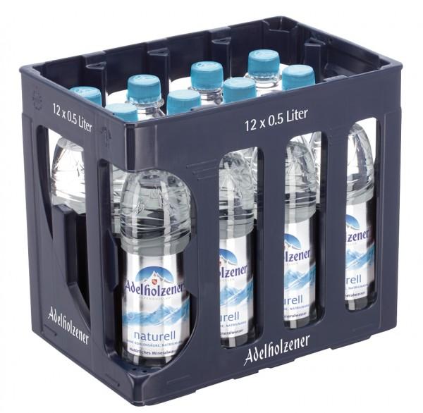 Adelholzener Naturell 12 x 0,5 Liter PET-Flasche