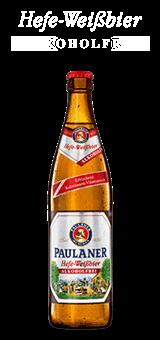 Paulaner Weissbier Alkoholfrei 20 x 0,5 Liter