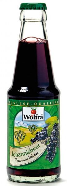 Wolfra Johannisbeer 30 x 0,2 Liter Glas