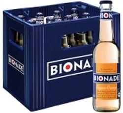 Bionade Ingwer-Orange 12 x 0,33 Liter Glasflasche
