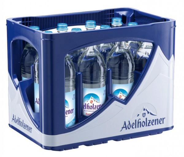 Adelholzener Naturell 12 x 0,75 Liter Glasflasche