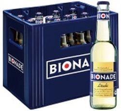 Bionade Litschi 12 x 0,33 Liter Glasflasche
