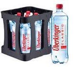 Überkinger Classic 9 x 1,0 Liter PET-Flasche