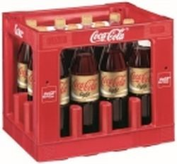 Coca Cola Light Coffeinfrei 12 x 1,0 Liter PET-Flasche