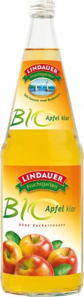 Lindauer Bio Apfel klar 6 x 1,0 Liter Glas