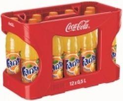 Fanta Orange 12 x 0,5 Liter PET-Flasche