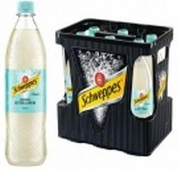 Schweppes Lemon 6 x 1,0 Liter PET-Flasche
