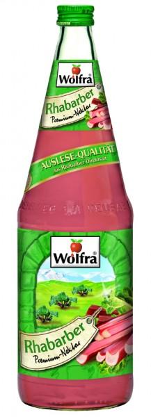 Wolfra Rhabarber 6 x 1,0 Liter Glas