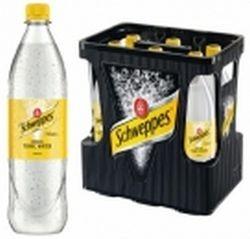 Schweppes Tonic Water 6 x 1,0 Liter PET-Flasche