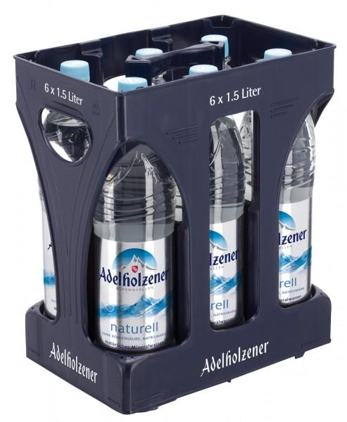 Adelholzener Naturell 6 x 1,5 Liter PET-Flasche