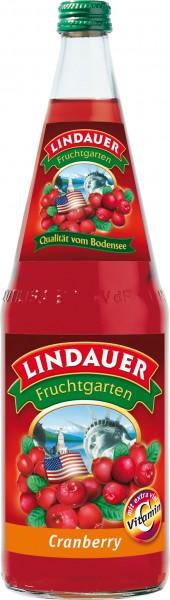 Lindauer Cranberry extra viel Vitamin C 6 x 1,0 Liter Glas