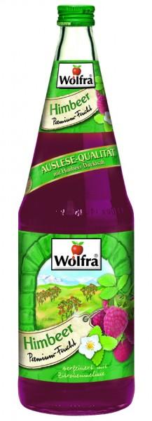 Wolfra Himbeer 6 x 1,0 Liter Glas