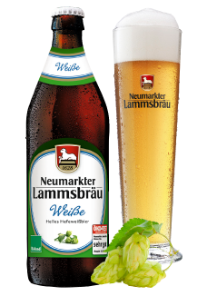 Lammsbräu Weissbier 20 x 0,5 Liter