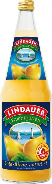 Lindauer Gold Birne naturtrüb 6 x 1,0 Liter Glas