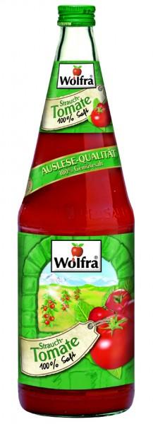 Wolfra Tomatensaft 6 x 1,0 Liter Glas