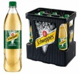 Schweppes Ginger Ale 6 x 1,0 Liter PET-Flasche