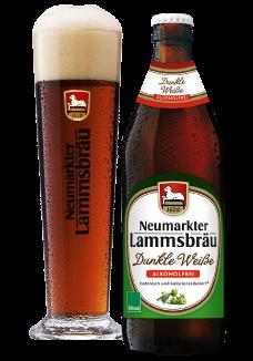 Lammsbräu Weissbier Dunkel Alkoholfrei 20 x 0,5 Liter