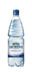 Krumbach Medium 9 x 1,0 Liter PET-Flasche