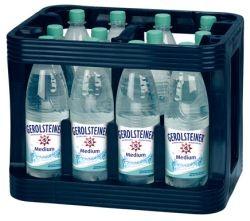Gerolsteiner Medium 12 x 1,0 Liter PET-Flasche