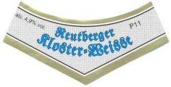 Reutberger Kloster Weisse Hell 20 x 0,5 Liter