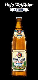 Paulaner Hefe Weissbier Leicht 20 x 0,5 Liter