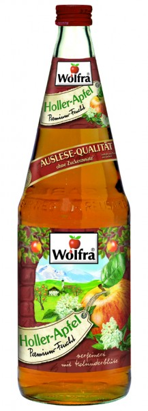 Wolfra Holler Apfel 6 x 1,0 Liter Glas
