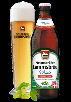 Lammsbräu Weissbier Alkoholfrei 20 x 0,5 Liter