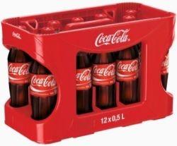 Coca Cola 12 x 0,5 Liter PET-Flasche