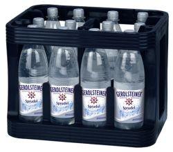 Gerolsteiner Sprudel 12 x 1,0 Liter PET-Flasche