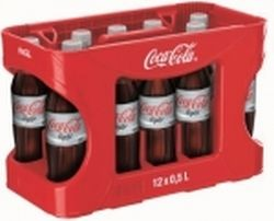 Coca Cola Light 12 x 0,5 Liter PET-Flasche