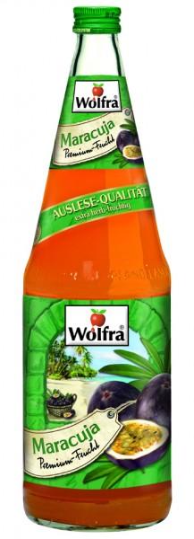 Wolfra Maracuja 6 x 1,0 Liter Glas