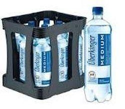 Überkinger Medium 9 x 1,0 Liter PET-Flasche