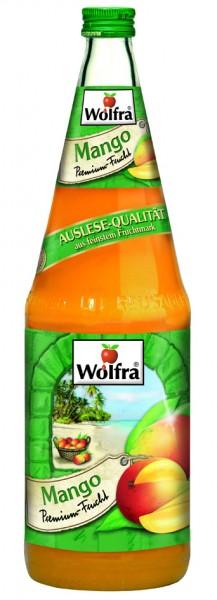 Wolfra Mango 6 x 1,0 Liter Glas