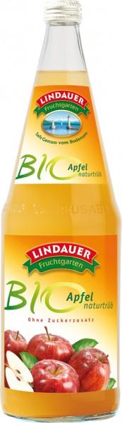 Lindauer Bio Apfel trüb 6 x 1,0 Liter Glas