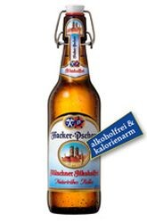 Hacker Pschorr Münchner Hell Alkoholfrei naturtrüb 20 x 0,5 Liter Bügelflasche