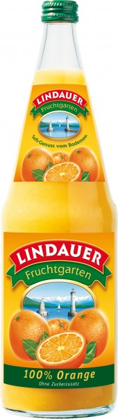 Lindauer Orangensaft Premium 6 x 1,0 Liter Glas