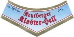Reutberger Kloster Hell 20 x 0,5 Liter