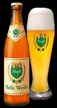Hopf Helle Weiße 20 x 0,5 Liter