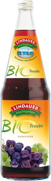 Lindauer Bio Traube naturtrüb 6 x 1,0 Liter Glas
