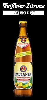 Paulaner Weissbier Zitrone Alkoholfrei 20 x 0,5 Liter