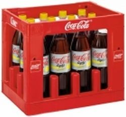 Coca Cola Light Lemon 12 x 1,0 Liter PET-Flasche